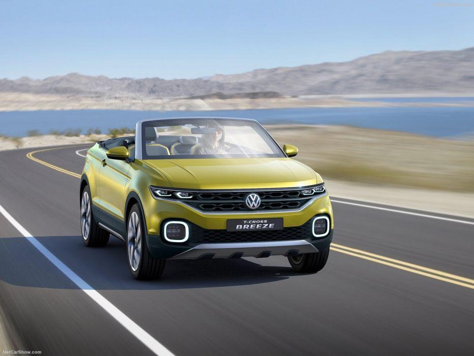 Volkswagen T-Cross Breeze Concept cars 2016 wallpaper