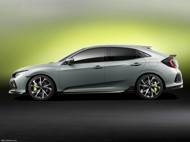 Honda Civic Hatchback Concept cars 2016 wallpaper