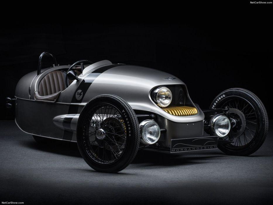 Morgan EV3 aero-engine race cars classic motorcycles cars 2016 wallpaper