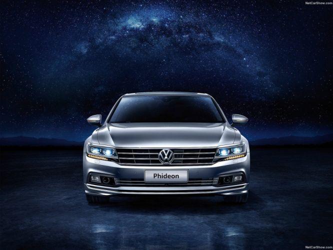 Volkswagen Phideon cars 2016 wallpaper