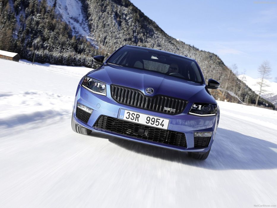 Skoda Octavia RS sedan 4x4 cars 2016 wallpaper