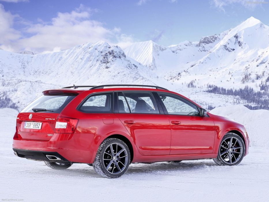 Skoda Octavia RS combi wagon 4x4 cars 2016 wallpaper