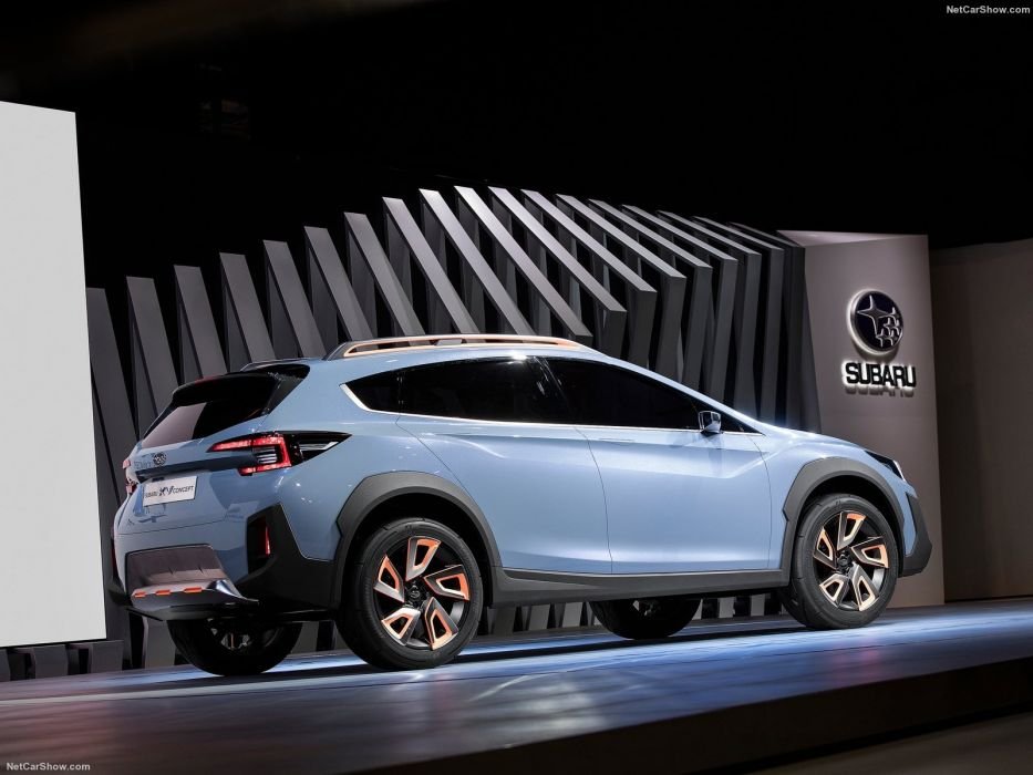 Subaru XV Concept cars suv 2016 wallpaper