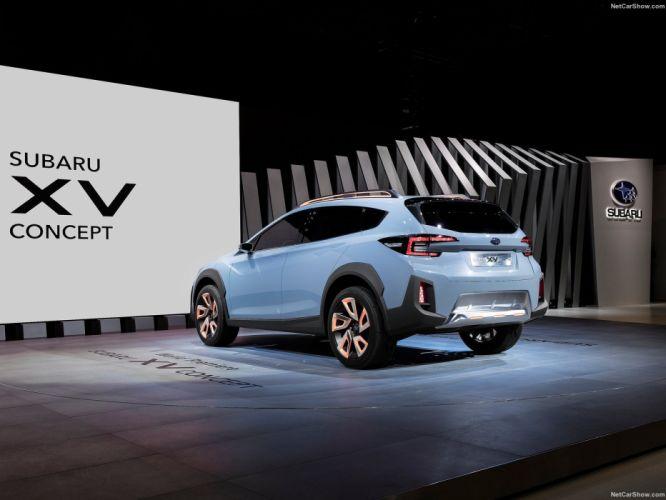 Subaru XV Concept cars suv 2016 wallpaper
