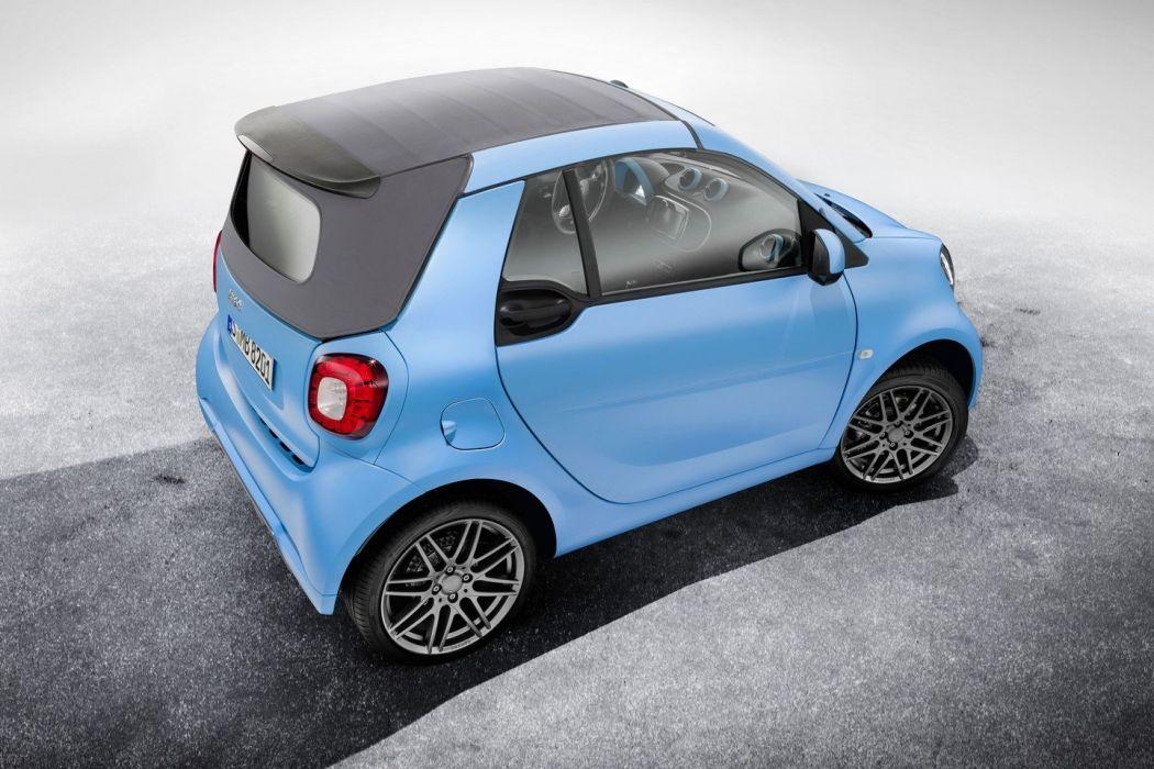 Smart fortwo cabrio Brabus edition cars modified 2016 wallpaper