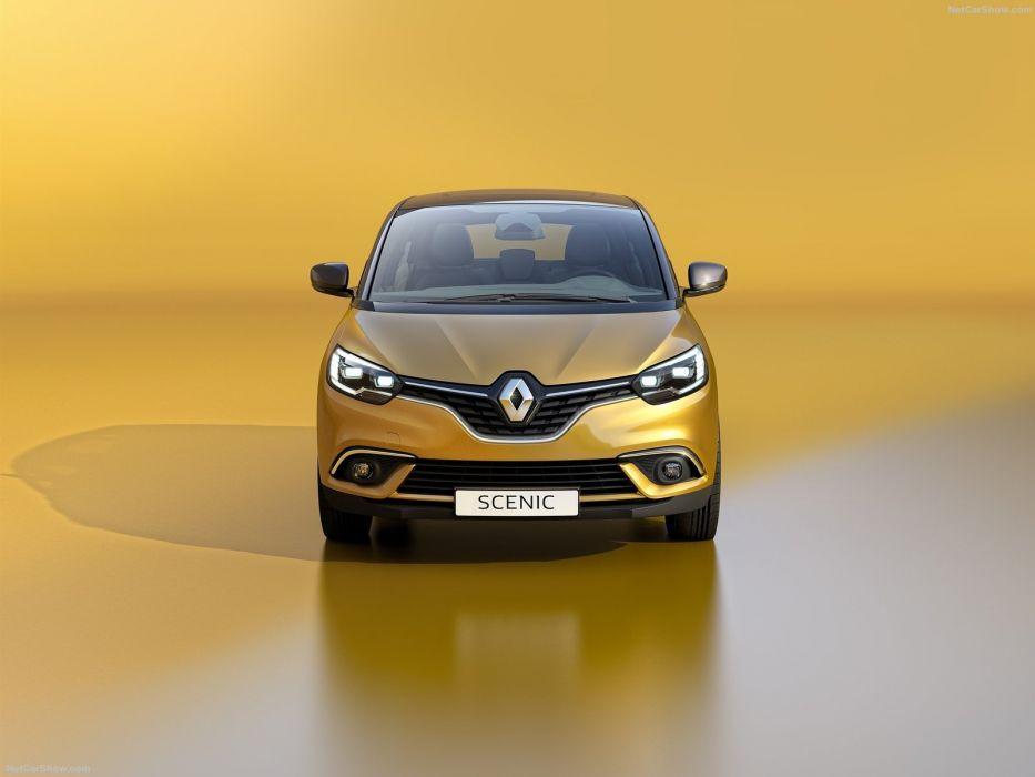 Renault Scenic caes 2016 wallpaper