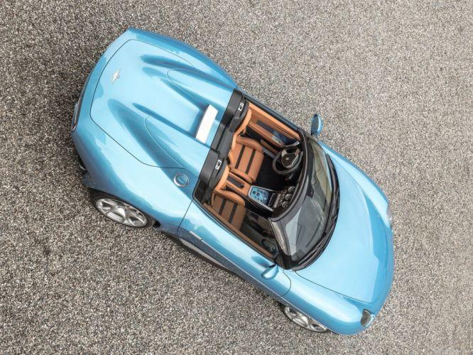 Alfa Romeo Disco Volante Spyder Touring cars blue 2016 wallpaper