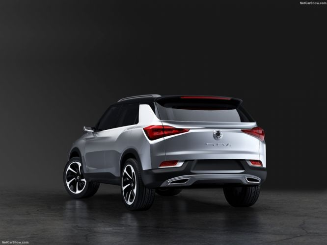 SsangYong SIV-2 Concept cars suv 2016 wallpaper