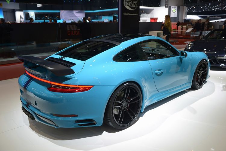 2016 Geneva Motor Show Techart Porsche 911 cars modified wallpaper