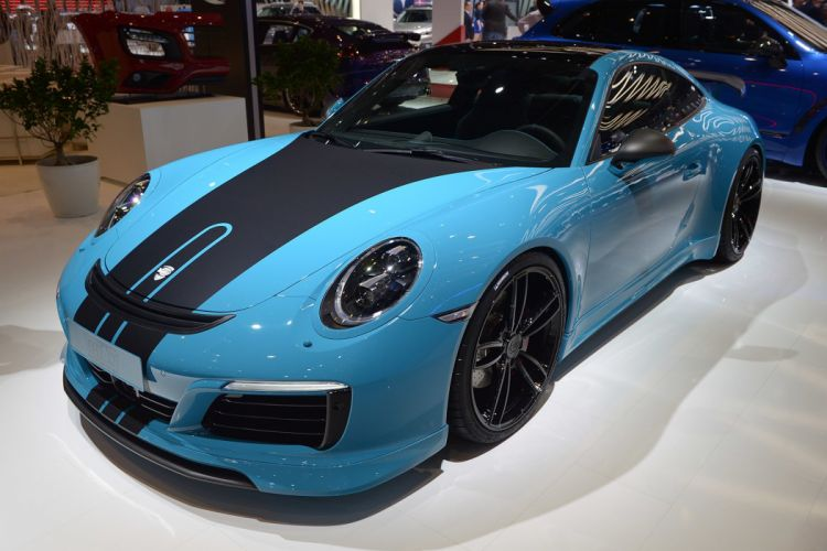 2016 Geneva Motor Show Techart Porsche 911 cars modified wallpaper