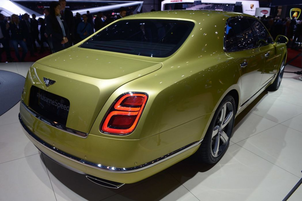 2016 Geneva Motor Show Bentley Mulsanne Speed cars wallpaper