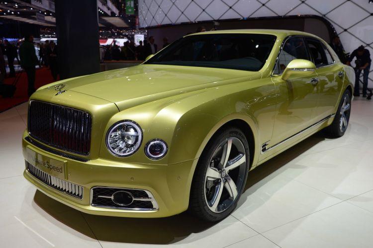 2016 Geneva Motor Show Bentley Mulsanne Speed cars wallpaper