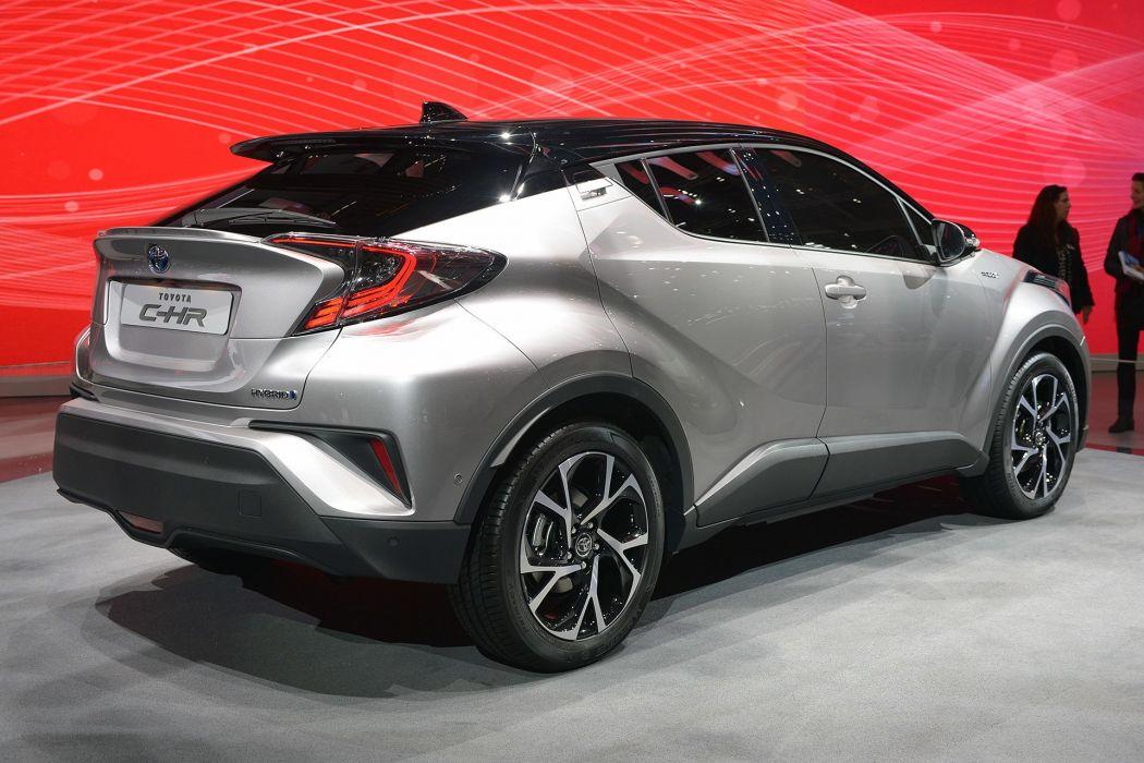2016 Geneva Motor Show Toyota C-HR suv cars wallpaper