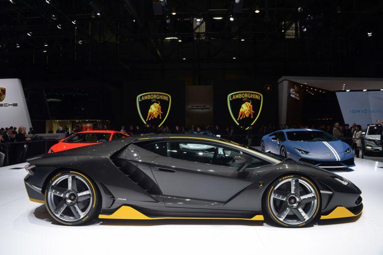2016 Geneva Motor Show Lamborghini Centenario supercars cars wallpaper