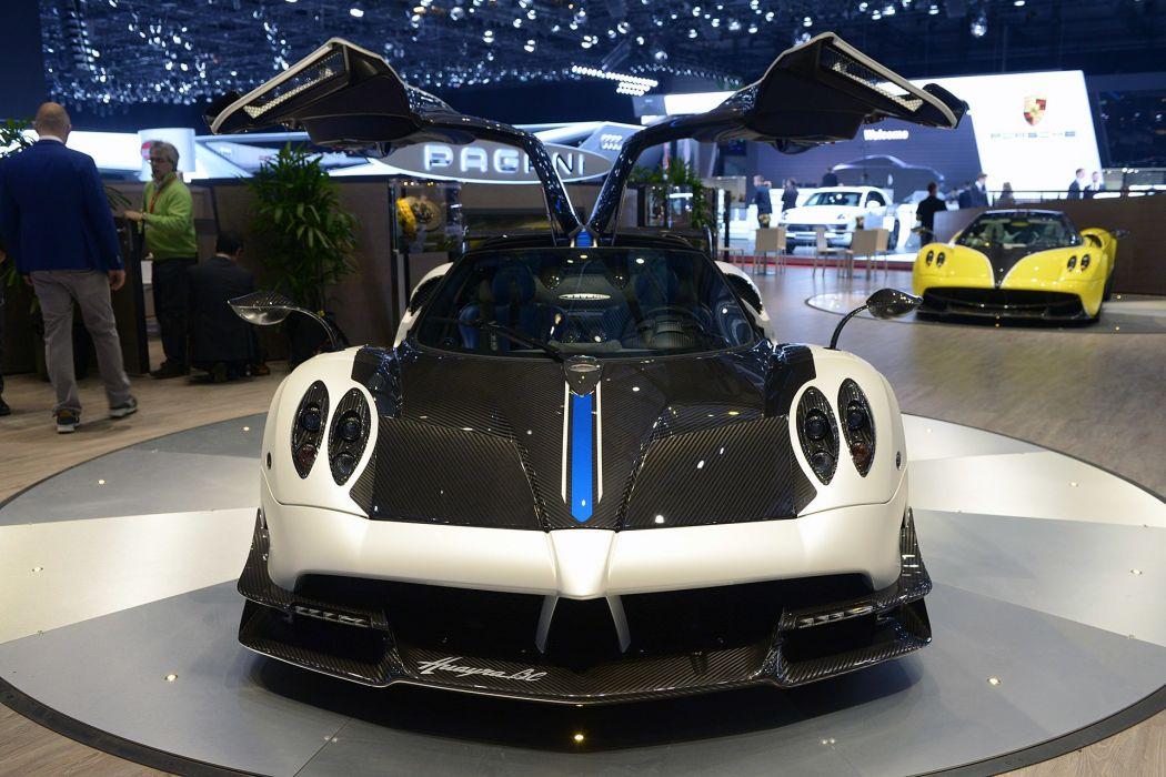 2016 Geneva Motor Show Pagani Huayra BC supercars cars wallpaper