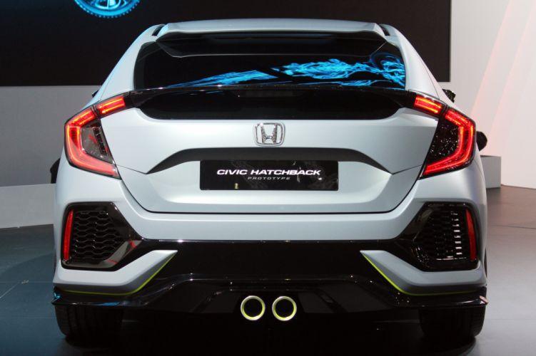 2016 Geneva Motor Show Honda Civic Hatchback Prototype cars wallpaper