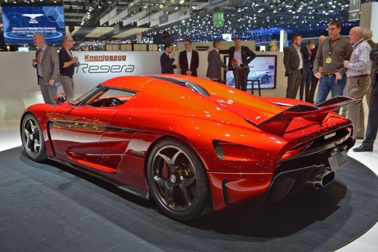 2016 Geneva Motor Show Koenigsegg Regera supercars cars wallpaper