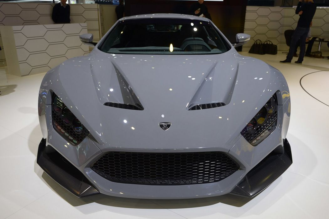 2016 Geneva Motor Show Zenvo TS1 supercars cars wallpaper