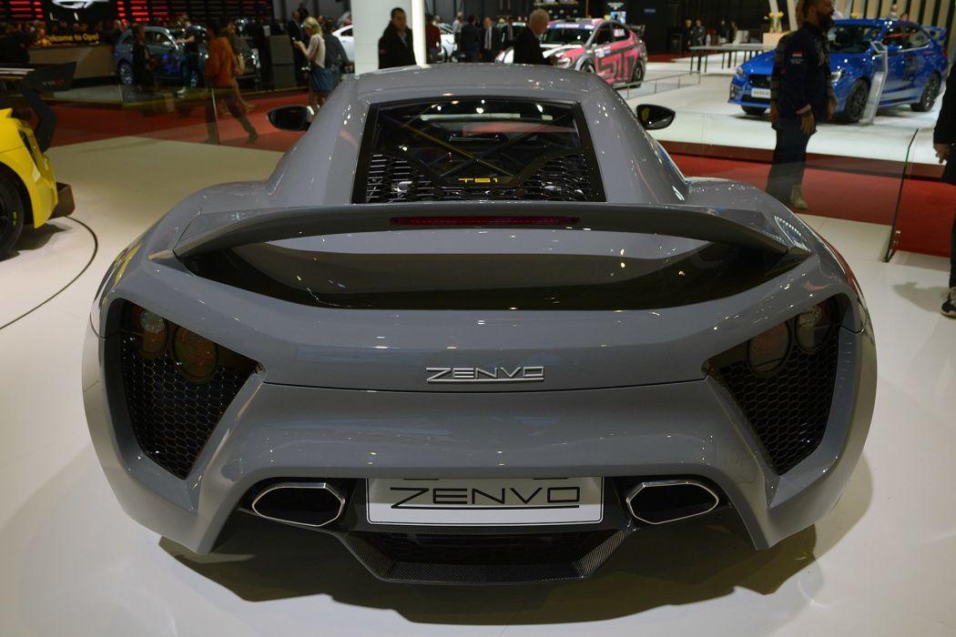 2016 Geneva Motor Show Zenvo TS1 supercars cars wallpaper