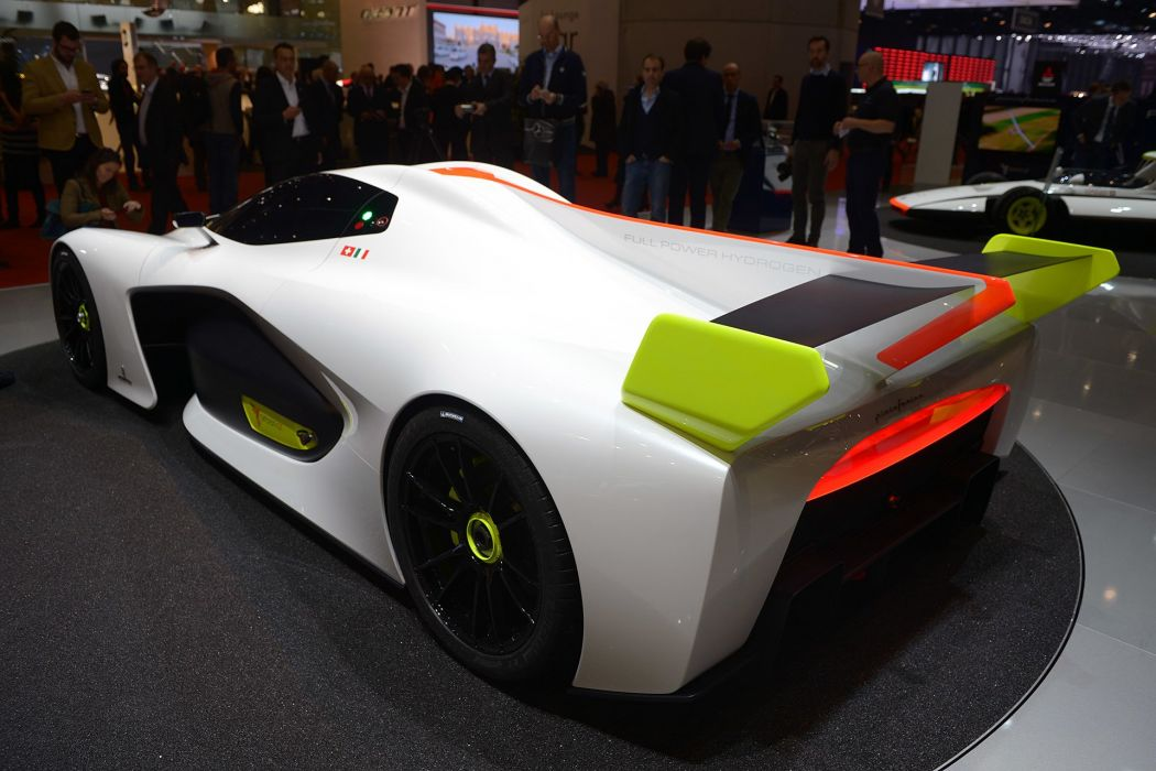 2016 Geneva Motor Pininfarina H2 Speed Concept cars wallpaper