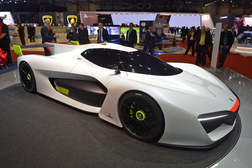 2016 Geneva Motor Pininfarina H2 Speed Concept cars wallpaper