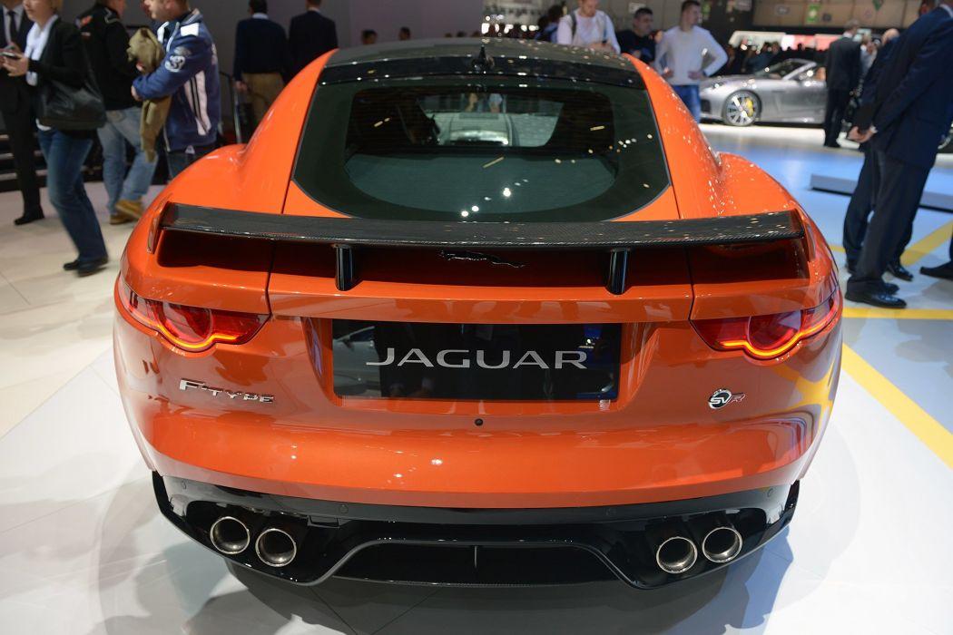 2016 Geneva Motor Jaguar F-Type SVR cars wallpaper