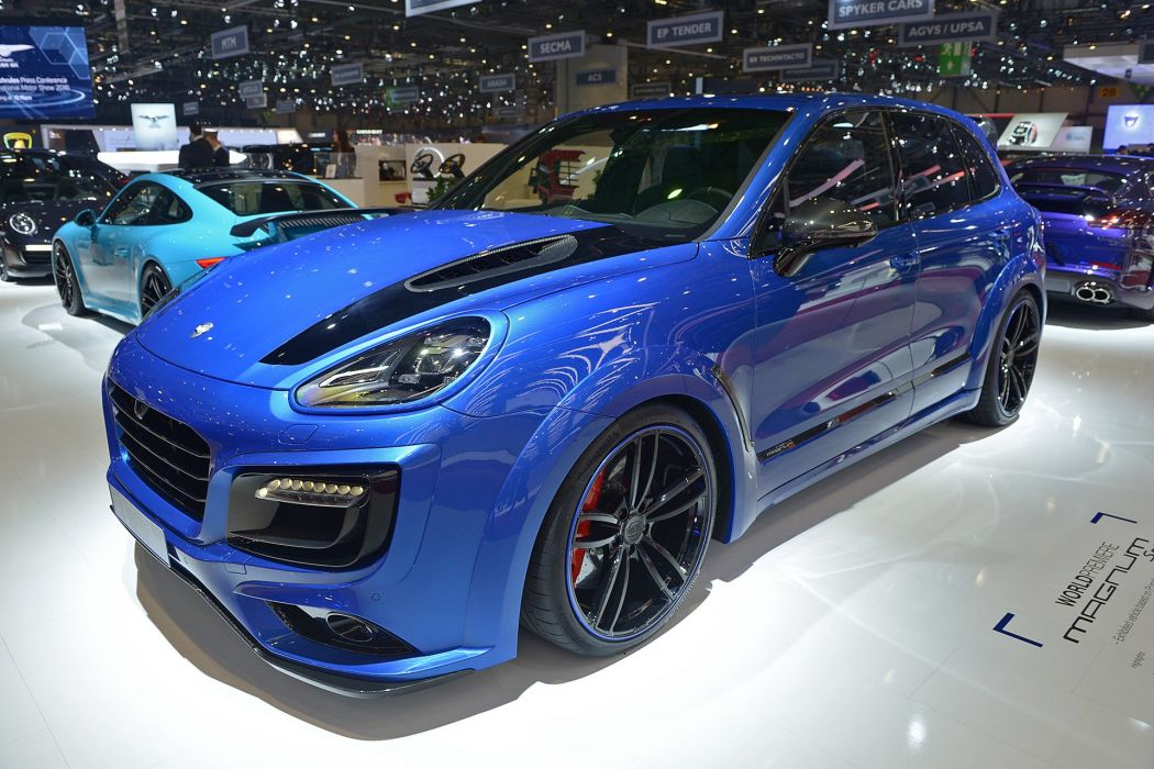 2016 Geneva Motor Techart porsche Magnum modified suv cars wallpaper