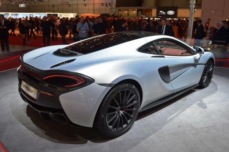 2016 Geneva Motor show McLaren 570GT coupe cars wallpaper
