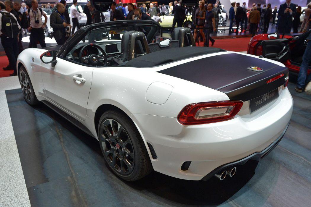 2016 Geneva Motor show Abarth fiat 124 Spider cars wallpaper