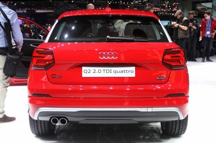 2016 Geneva Motor show Audi Q2 cars wallpaper