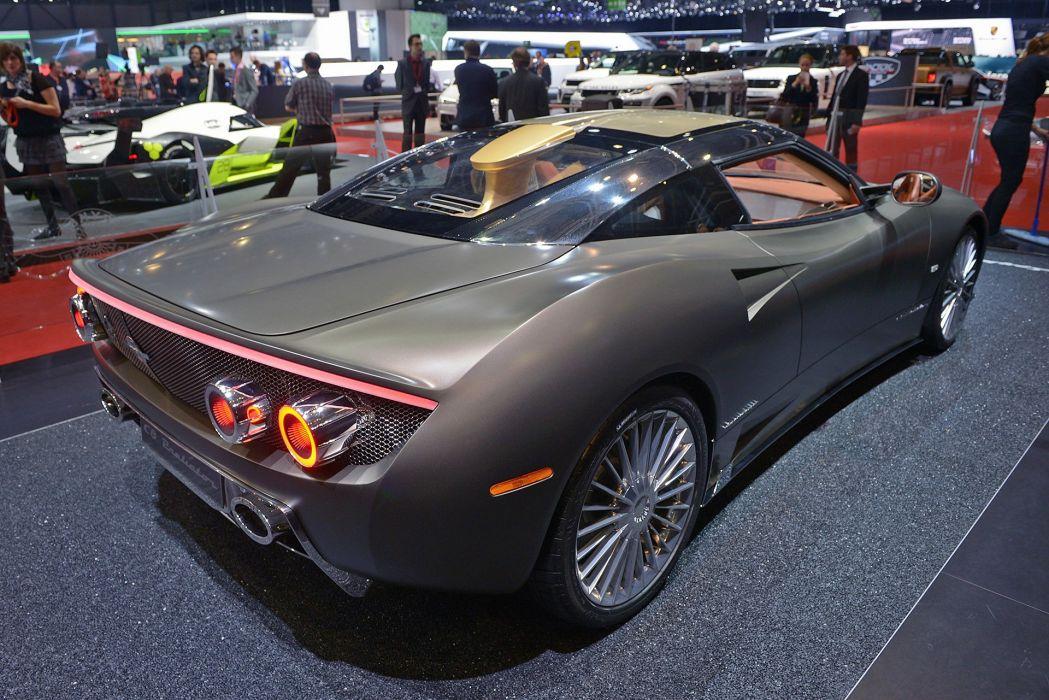 2016 Geneva Motor show Spyker C8 Preliator supercars cars wallpaper