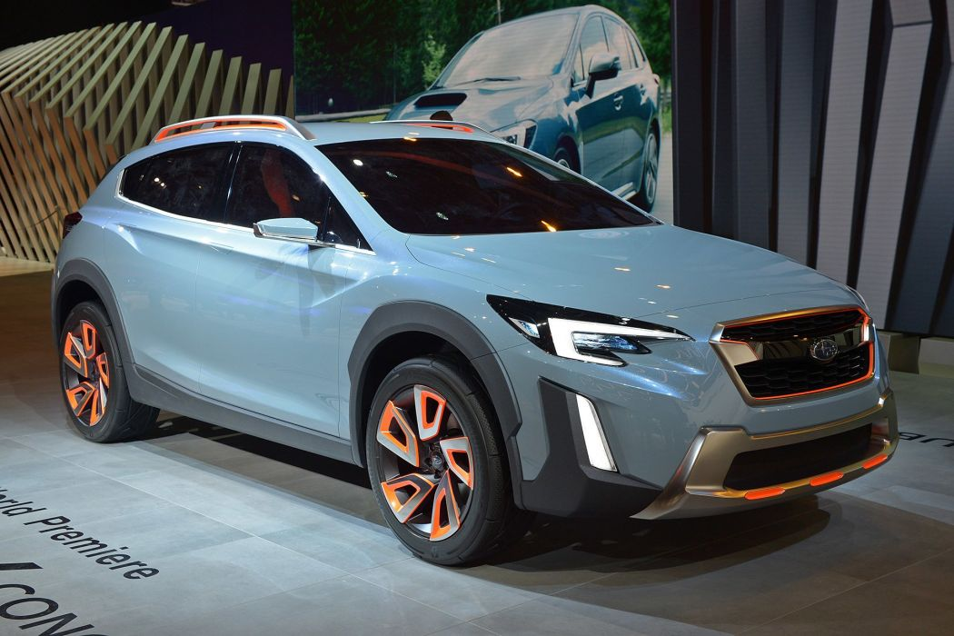 2016 Geneva Motor show Subaru XV Concept suv cars wallpaper