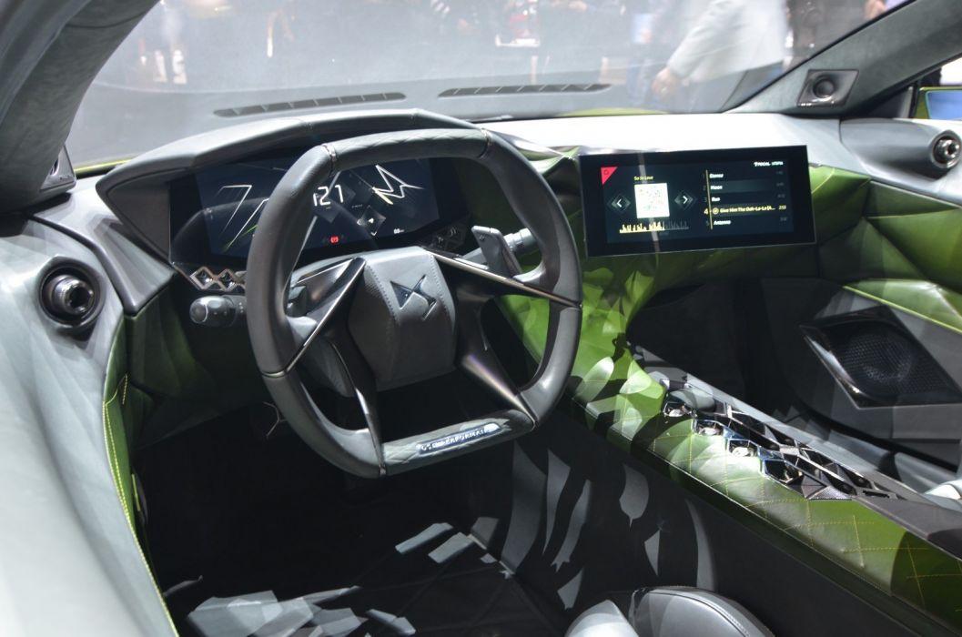 2016 Geneva Motor show DS E-Tense Concept cars wallpaper