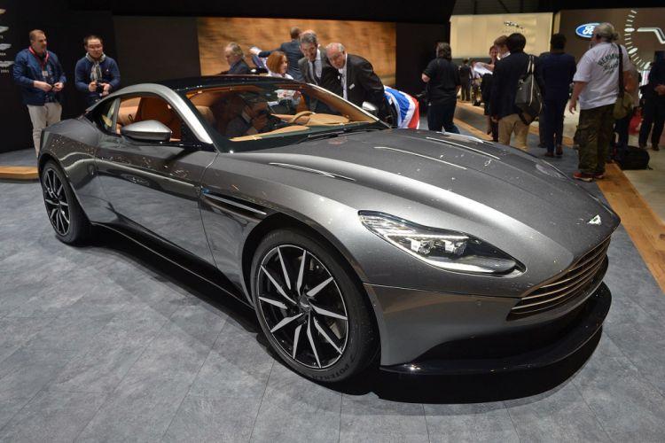 2016 Geneva Motor show Aston Martin DB11 cars wallpaper