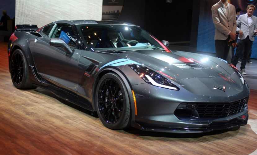 2016 Geneva Motor show Chevrolet (c7) Corvette Grand Sport cars wallpaper
