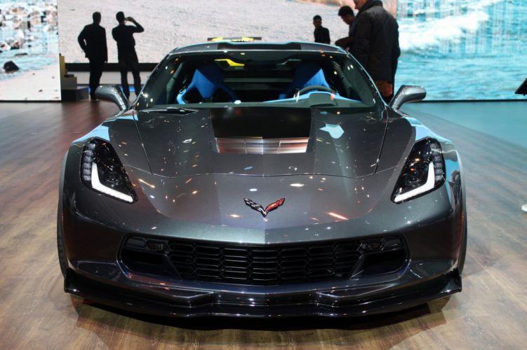 2016 Geneva Motor show Chevrolet (c7) Corvette Grand Sport cars wallpaper