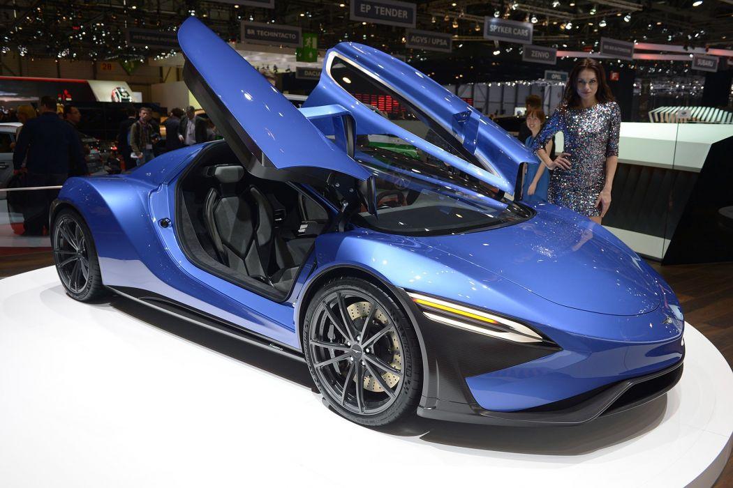 2016 Geneva Motor show Techrules GT96 TREV Concept cars wallpaper