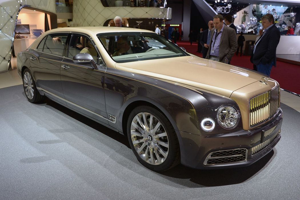 2016 Geneva Motor show Bentley Mulsanne EWB cars wallpaper