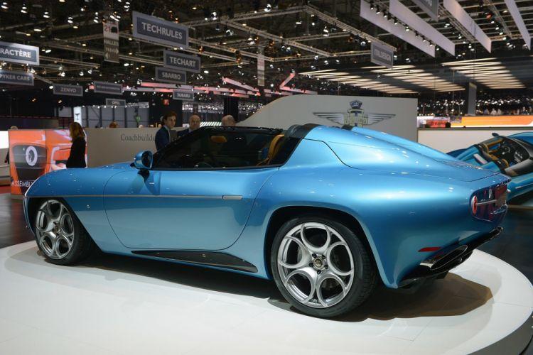 2016 Geneva Motor show ouring Superleggera Disco Volante Spyder cars wallpaper