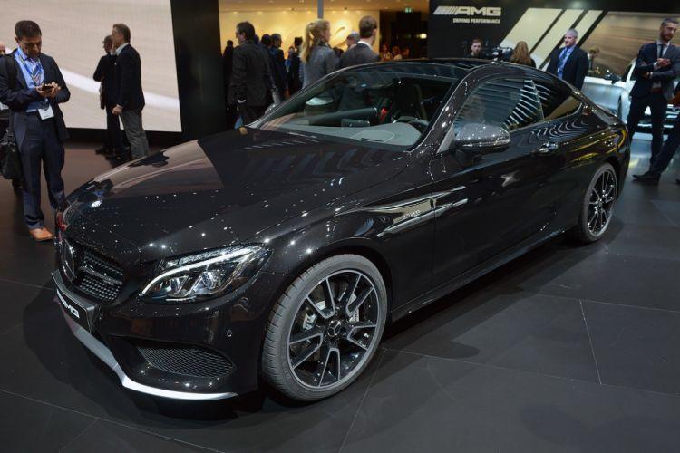 2016 Geneva Motor show Mercedes AMG C43 coupe cars wallpaper