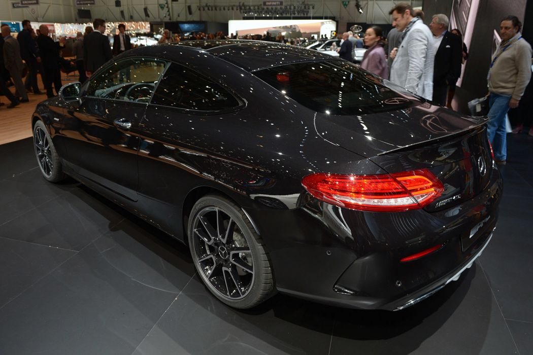 2016 Geneva Motor show Mercedes AMG C43 coupe cars wallpaper