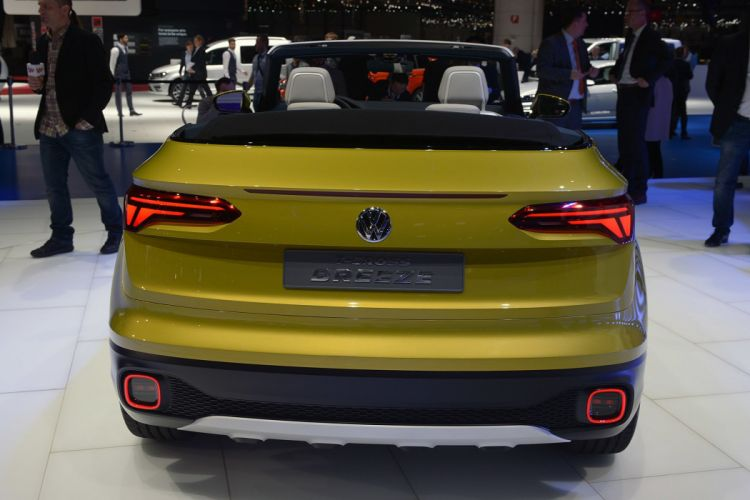 2016 Geneva Motor show Volkswagen T-Cross Breeze Concept cars wallpaper