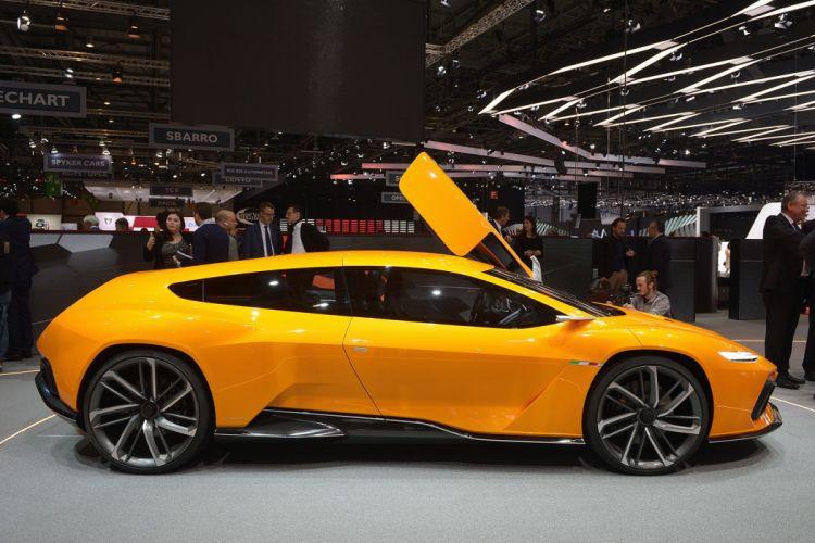 2016 Geneva Motor show Italdesign GTZero Concept cars wallpaper