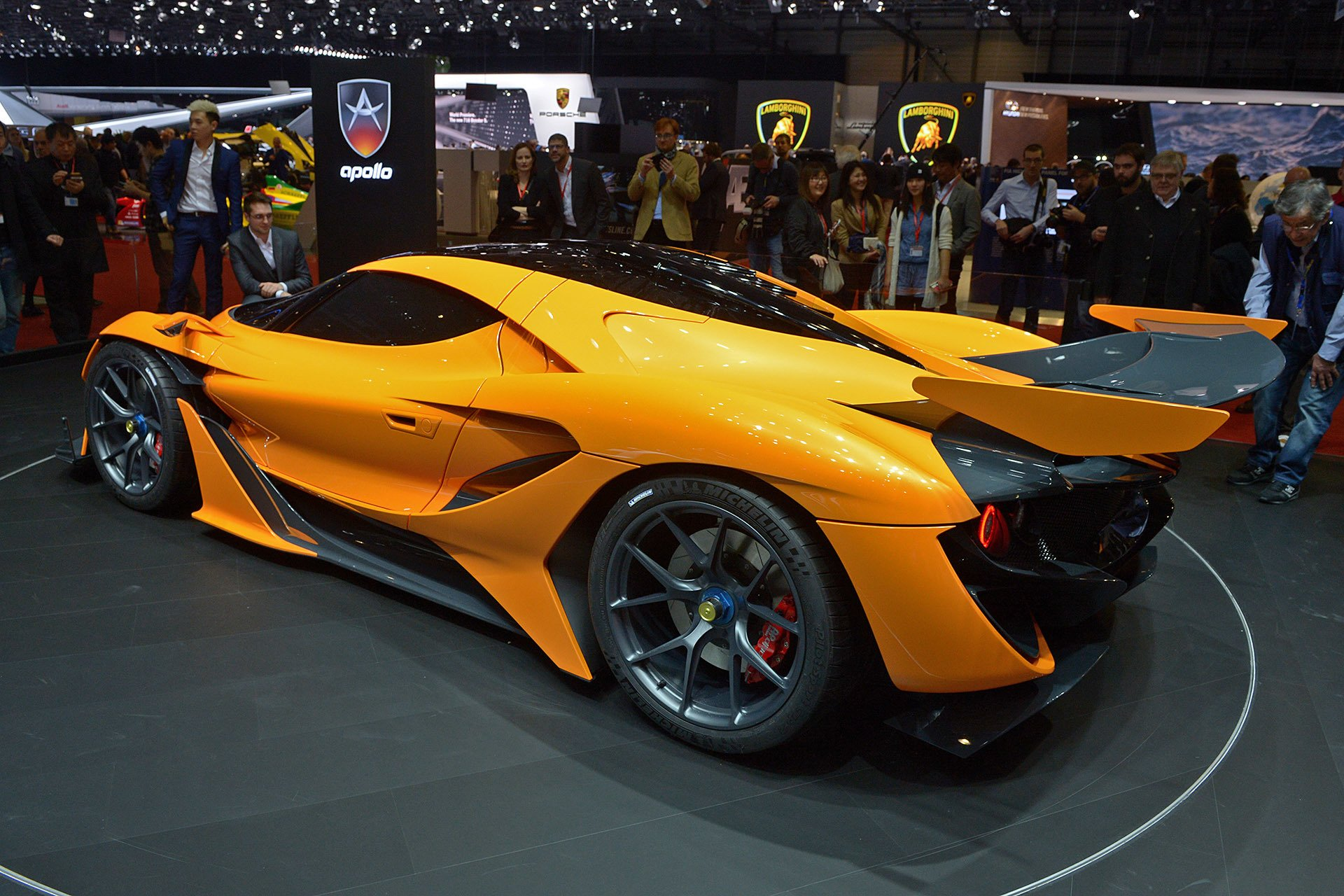 2016 Geneva Motor Show Apollo Arrow Supercars Cars