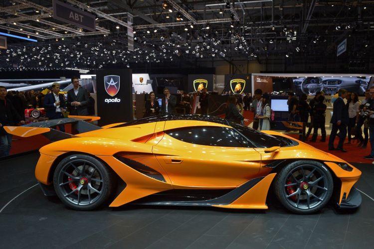 2016 Geneva Motor show Apollo Arrow supercars cars wallpaper