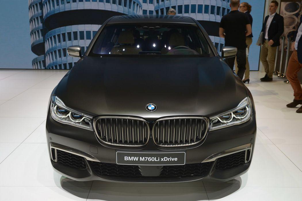 2016 Geneva Motor show BMW M760Li xDrive cars wallpaper