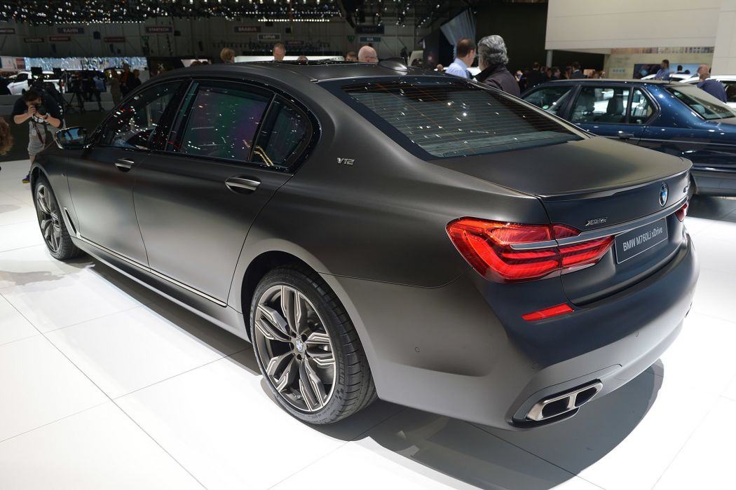 2016 Geneva Motor show BMW M760Li xDrive cars wallpaper