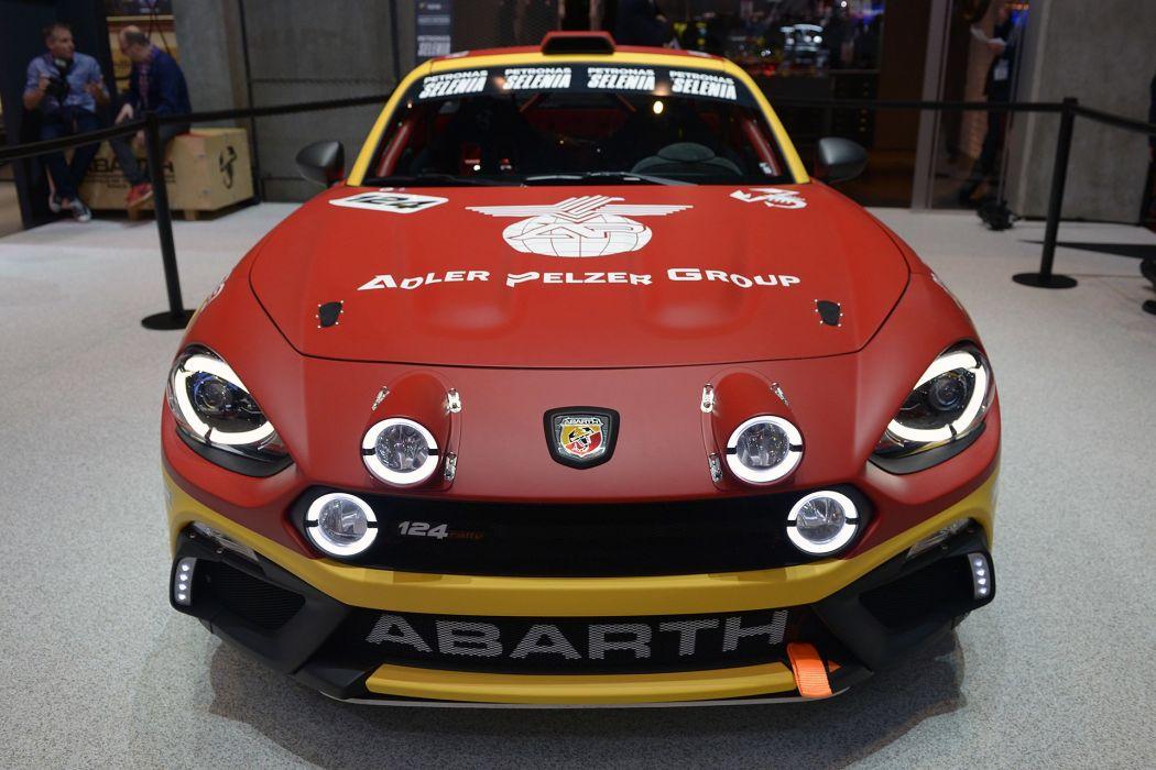2016 Geneva Motor show Fiat Abarth 124 Rally cars wallpaper