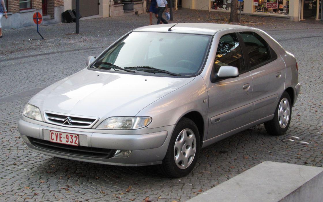 citroen xsara coche gris francia wallpaper