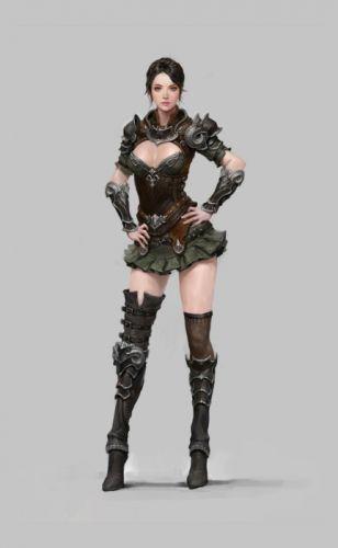 beauty princess fantasy female warrior armor wallpaper